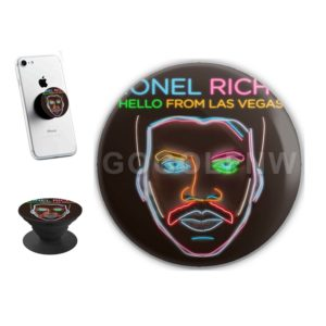 Lionel Richie Hello From Las Vegas Sticker for PopSockets