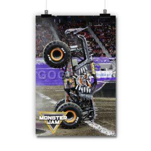 Max-D Monster Jam Truck Poster Print Art Wall Decor
