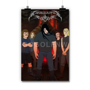 Metalocalypse Poster Print Art Wall Decor