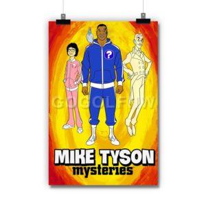 Mike Tyson Mysteries Poster Print Art Wall Decor