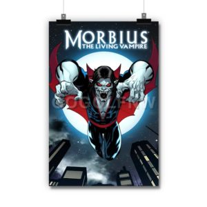 Morbius The Living Vampire Poster Print Art Wall Decor