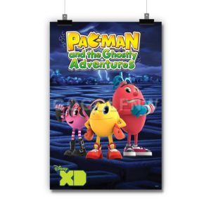 Pac-Man and the Ghostly Adventures Poster Print Art Wall Decor