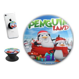 Penguin Land Sticker for PopSockets