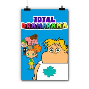 Total Dramarama Poster Print Art Wall Decor