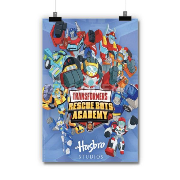 Transformers Rescue Bots Academy Poster Print Art Wall Decor