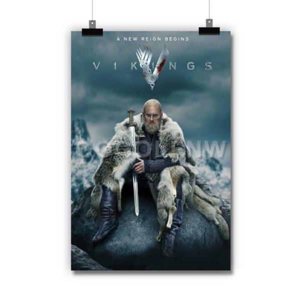 Vikings Season 6 Poster Print Art Wall Decor